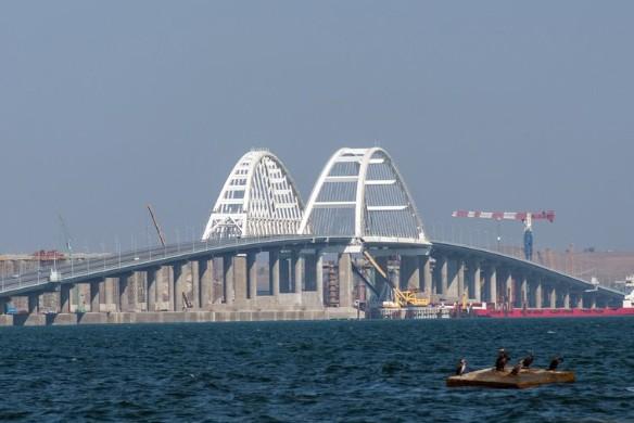 Крымский мост был открыт в мае прошлого года. Фото: most.life