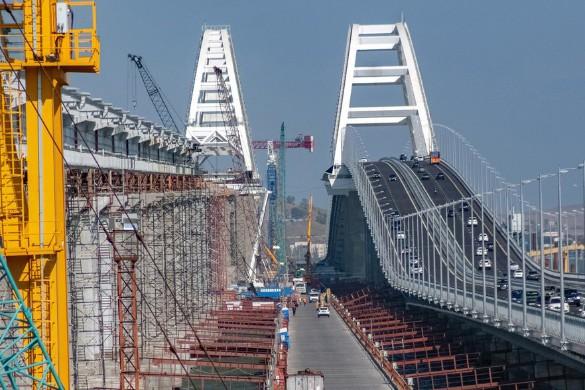 Скоро откроется железнодорожная часть Крымского моста. Фото: most.life
