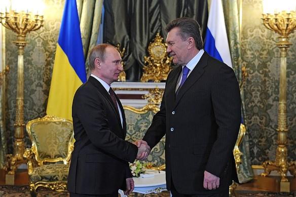 Владимир Путин и Виктор Янукович. Фото: kremlin.ru