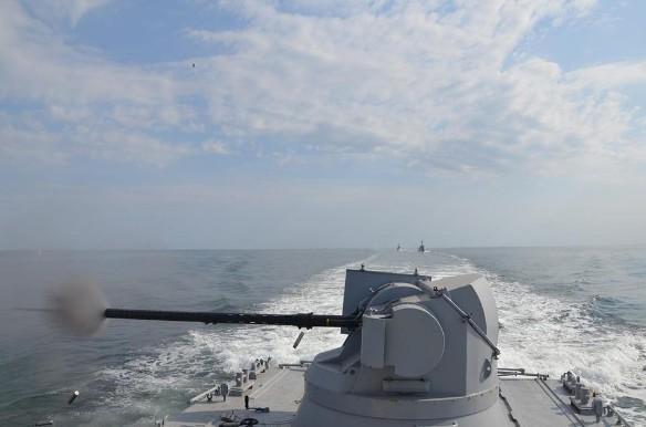 ВМС Незалежной устроили стрельбу на учениях. Фото: flickr.com/ministryofdefenceua