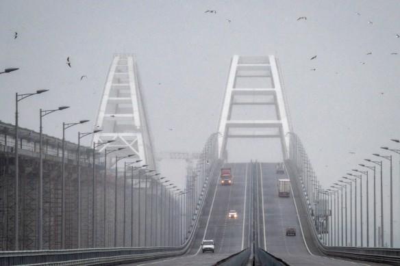 По Крымскому мосту проехали четыре миллиона автомобилей. Фото: most.life