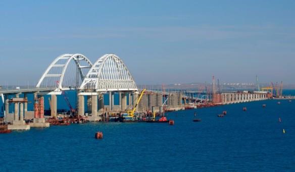 Железнодорожная часть Крымского моста почти готова. Фото: most.life/multimedi