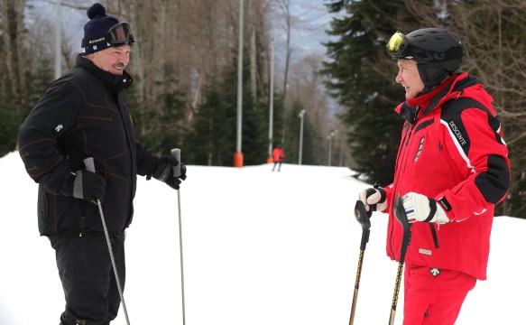 Александр Лукашенко и Владимир Путин. Фото: kremlin.ru