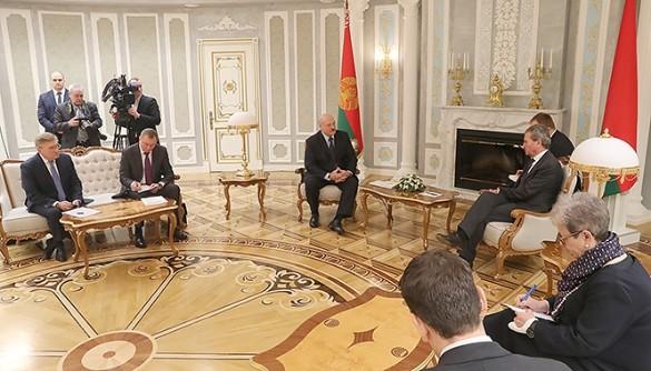 Встреча Лукашенко и Эттингера. Фото: president.gov.by