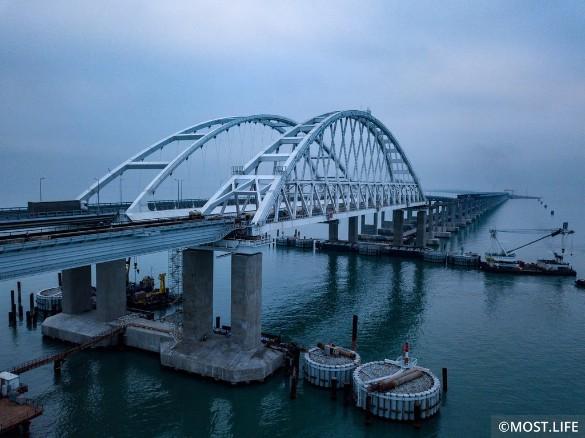 Крымский мост для украинцев – как кость в горле. Фото: most.life