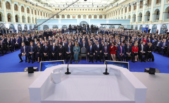 Президент сообщил, что многим пенсию не проиндексировали. Фото: kremlin.ru