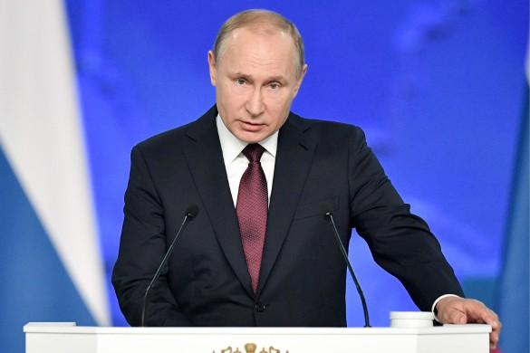 Владимир Путин. Фото: Алексей Никольский/ТАСС