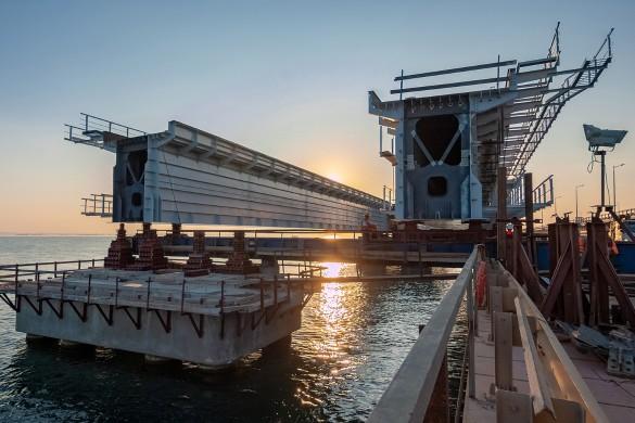 Безопасность Крымского моста находится на высшем уровне. Фото: most.life