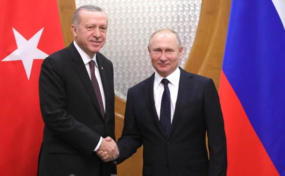 Р.Эрдоган и В.Путин. Фото: www.globallookpress.com