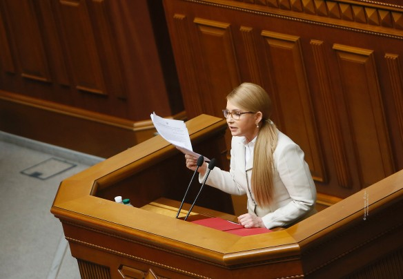 Юлия Тимошенко не первый раз участвует в выборах президента Украины. Фото: tymoshenko.ua