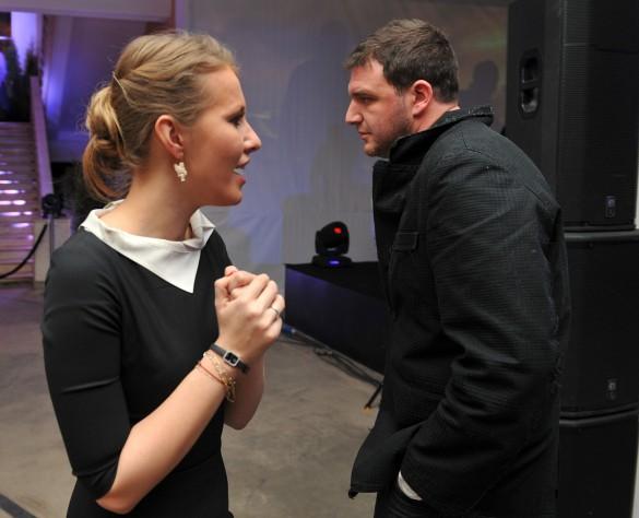 Ксения Собчак и Максим Виторган. Фото: www.globallookpress.com