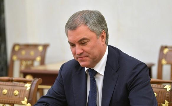 Вячеслав Володин. Фото: globallookpress.com