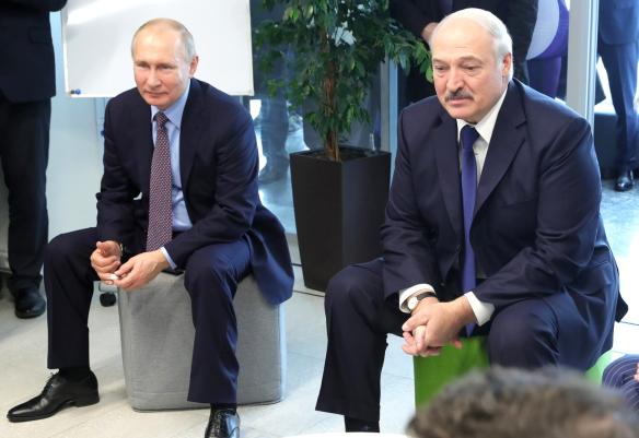 Владимир Путин и Александр Лукашенко. Фото: www.globallookpress.com