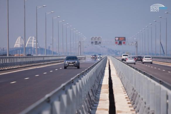 """К Крымскому мосту на полуострове ведет трасса """"Таврида"""". Фото: most.life"""