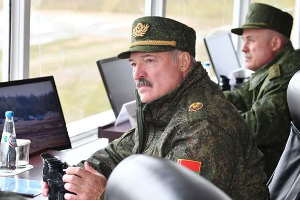 Лукашенко отказался размещать российскую военную базу в Белоруссии. Фото: president.gov.by