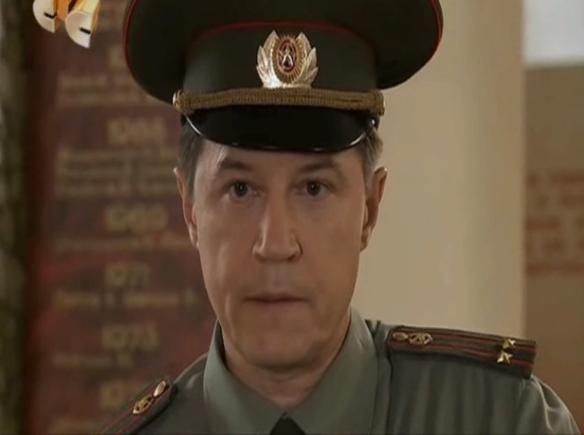 "Александр Никулин. Фото: кадр из сериала ""Кадетство"""