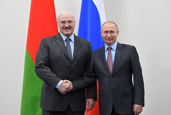 Александр Лукашенко и Владимир Путин. Фото: president.gov.by