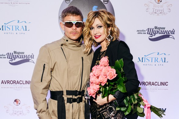 Митя Фомин и Анжелика Агурбаш. Фото: пресс-служба