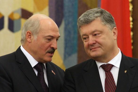 Александр Лукашенко и Петр Порошенко. Фото: www.globallookpress.com