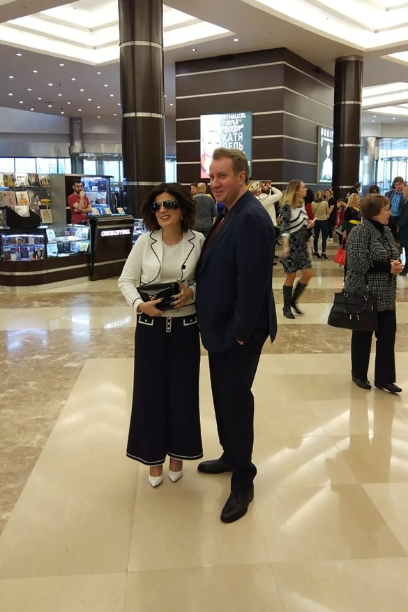 Диана Гурцкая с мужем. Фото: Феликс Грозданов/Дни.ру