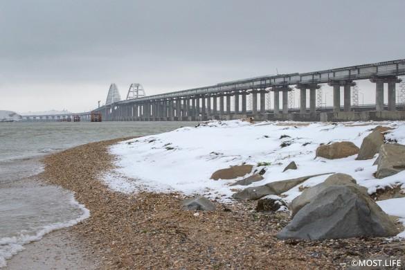 Крымский мост сводит с ума агрессивных украинцев. Фото: most.life