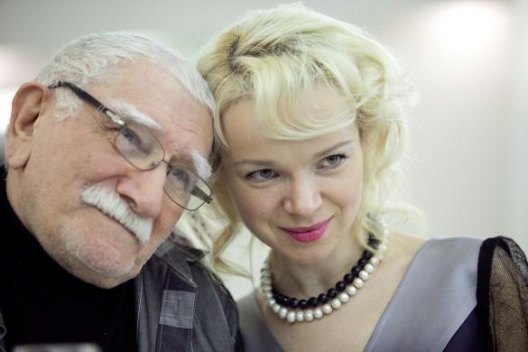 Армен Джигарханян и Виталина Цымбалюк-Романовская. Фото: личный архив