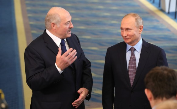 Александр Лукашенко и Владимир Путин. Фото: www.globallookpress.com