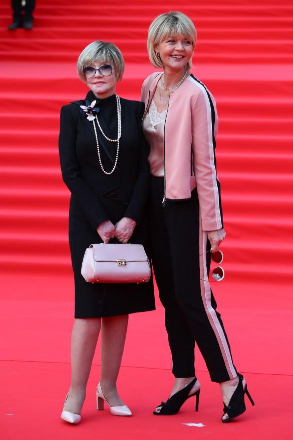 Вера Алентова и Юлия Меньшова. Фото: Гавриил Григоров/ТАСС