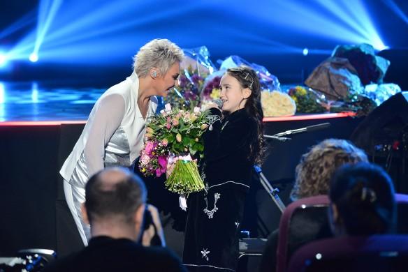 Певица с дочерью. Фото: пресс-служба