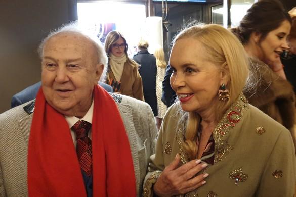 Нелли Кобзон и Зураб Церетели. Фото: Дни.ру