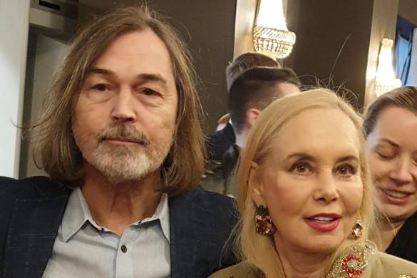 Нелли Кобзон и Никас Сафронов. Фото: Дни.ру
