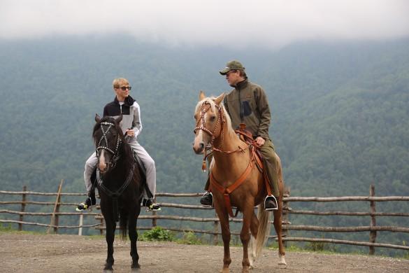 Руслан Байсаров с сыном Дэни. Фото: пресс-служба