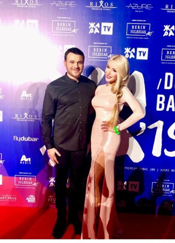 Эмин Алагаров и Алена Кравец. Фото: пресс-служба.