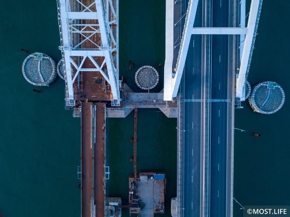 Скоро откроется железная дорога по Крымскому мосту. Фото: most.life/multimedia