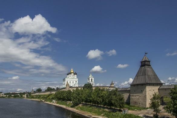 Псковский Кром. Фото: www.globallookpress.com