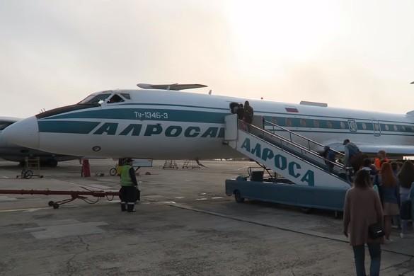 Последний самолет Аллы Пугачевой. Кадр youtube.com