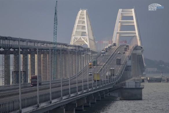 По крымскому мосту проехало пять миллионов автомобилей. Фото: most.life/multimedia/