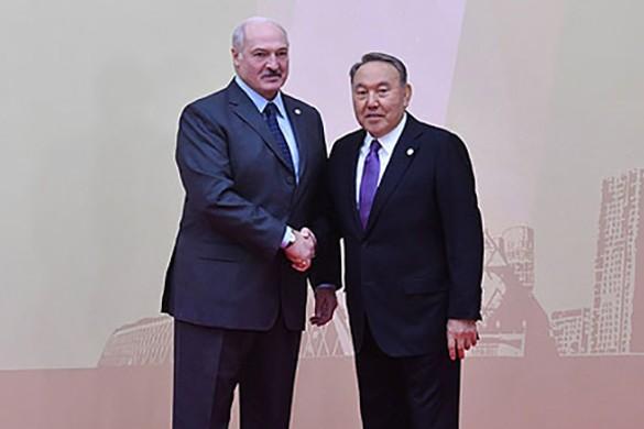 Александр Лукашенко и Нурсултан Назарбаев. Фото: president.gov.by