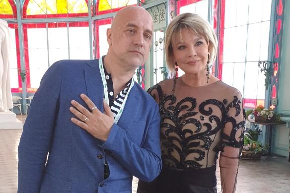 Захар Прилепин и Татьяна Веденеева. Фото: Дни.ру/Феликс Грозданов