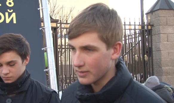 Николай Лукашенко. Кадр youtube.com