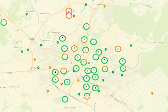 Карта свалок Вологды. Фото: kartasvalok.ru
