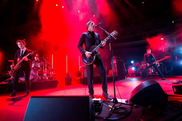 Группа Interpol. Фото: www.globallookpress.com