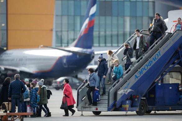 """Не все пассажиры довольны услугами """"Аэрофлота"""". Фото: www.globallookpress.com"""