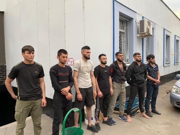Подозреваемые в трагедии в Южном Бутово. Фото: vk.com/zlaya_novorossia