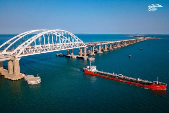 В Сети часто появляются сомнительные сообщения про Крымский мост. Фото: most.life