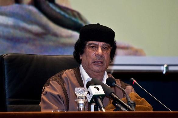 Муаммар Каддафи. Фото: www.globallookpress.com