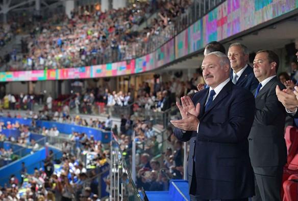 Александр Лукашенко на открытии II Европейских игр. Фото: president.gov.by