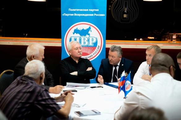 Игорь Ашурбейли (в центре) на заседании Центрального совета ПВР. Фото: ©Сайт холдинга «Социум»