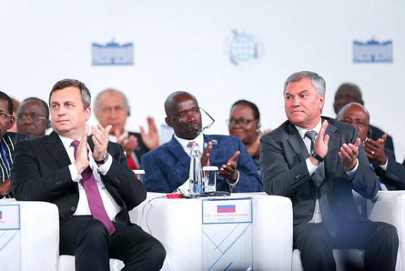 Вячеслав Володин и спикер парламента Словакии Андрей Данко. Фото: duma.gov.ru
