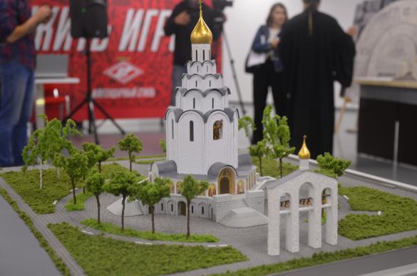 Будущий храм святого равноапостольного великого князя Владимира в Тушине. Фото: Дни.ру